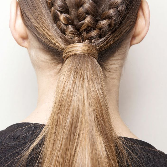 30 Fun Braided Hairstyles For Long Hair For Newest Three Strand Pigtails Braided Hairstyles (View 12 of 25)