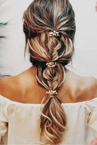 30 Greek Wedding Hairstyles For The Divine Brides For Best And Newest Grecian Inspired Ponytail Braided Hairstyles (View 14 of 25)