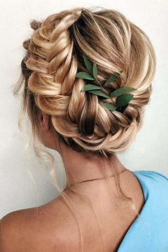 30 Greek Wedding Hairstyles For The Divine Brides | Wedding With Regard To Most Recently Grecian Inspired Ponytail Braided Hairstyles (View 3 of 25)