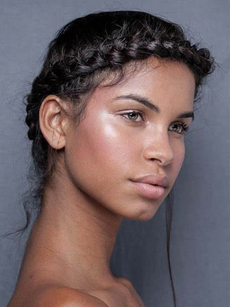 30 Sexy Goddess Braids Hairstyles You Will Love – The Trend With Newest Halo Braided Hairstyles With Bangs (View 21 of 25)