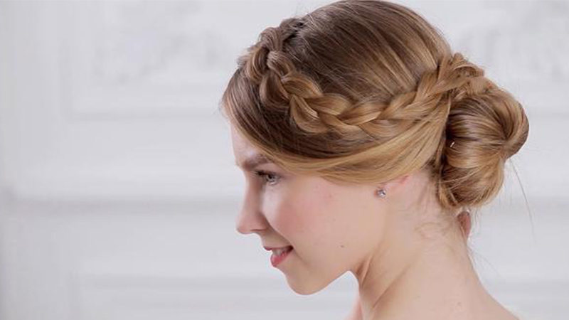 30 Stunning Prom Hairstyles For 2019 – The Trend Spotter Intended For Stacked Mini Buns Hairstyles (View 9 of 25)