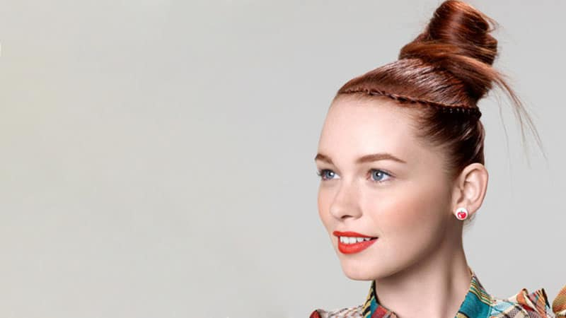30 Stunning Prom Hairstyles For 2019 – The Trend Spotter With Regard To Stacked Mini Buns Hairstyles (View 18 of 25)