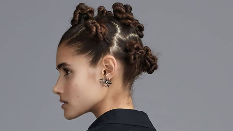 30 Stunning Prom Hairstyles For 2019 – The Trend Spotter With Regard To Stacked Mini Buns Hairstyles (View 4 of 25)