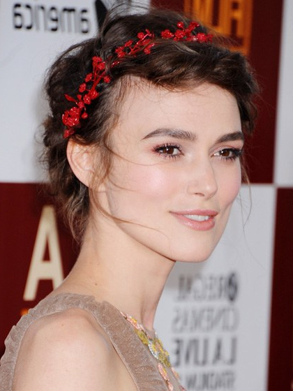 31 Brand New Party Hairstyles To Try | Allure Throughout Ethereal Updo Hairstyles With Headband (View 16 of 25)