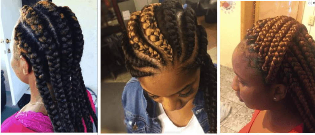 32 Perfect Goddess Braids Hairstyles 2018 [Updated + Video] With 2020 Thick Cornrows Braided Hairstyles (View 20 of 25)