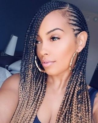 32 Trending Braided Hairstyles Ideas For Black Women In 2018 With Regard To Most Up To Date Metallic Side Cornrows Braided Hairstyles (View 3 of 25)