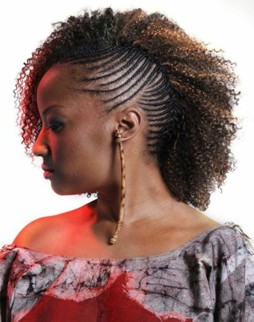 34 Dominating Side Braid Hairstyles To Get Killer Look Regarding Most Up To Date Cornrow Fishtail Side Braided Hairstyles (View 13 of 25)