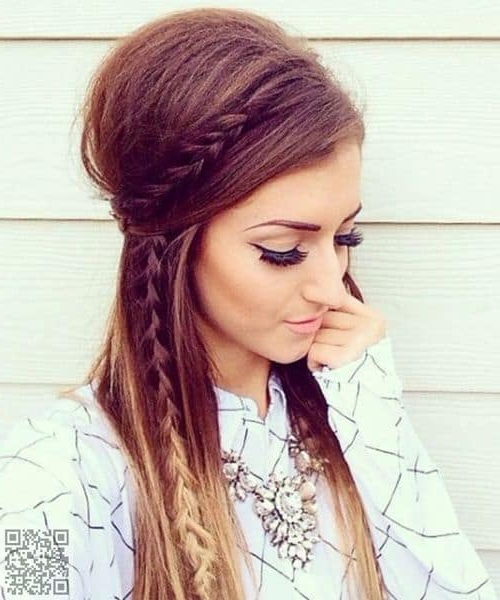 35 Bouffant Hairstyles That'll Make You Look Incredible [2019] With Regard To Latest Braids And Bouffant Hairstyles (View 13 of 25)