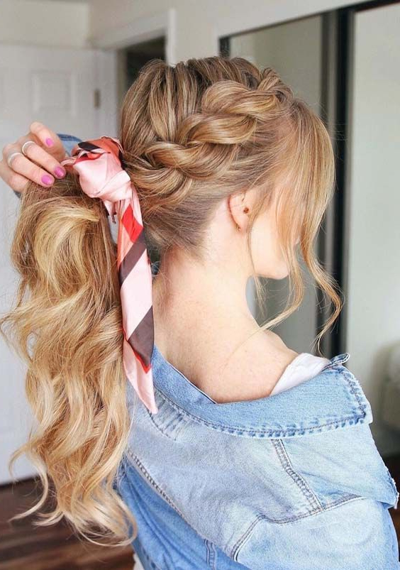 Featured Photo of High Rope Braid Hairstyles