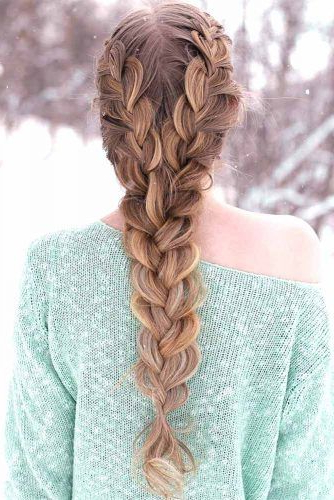 36 Types Of French Braid To Experiment With | Hair Styles Intended For Best And Newest Asymmetrical French Braided Hairstyles (View 19 of 25)