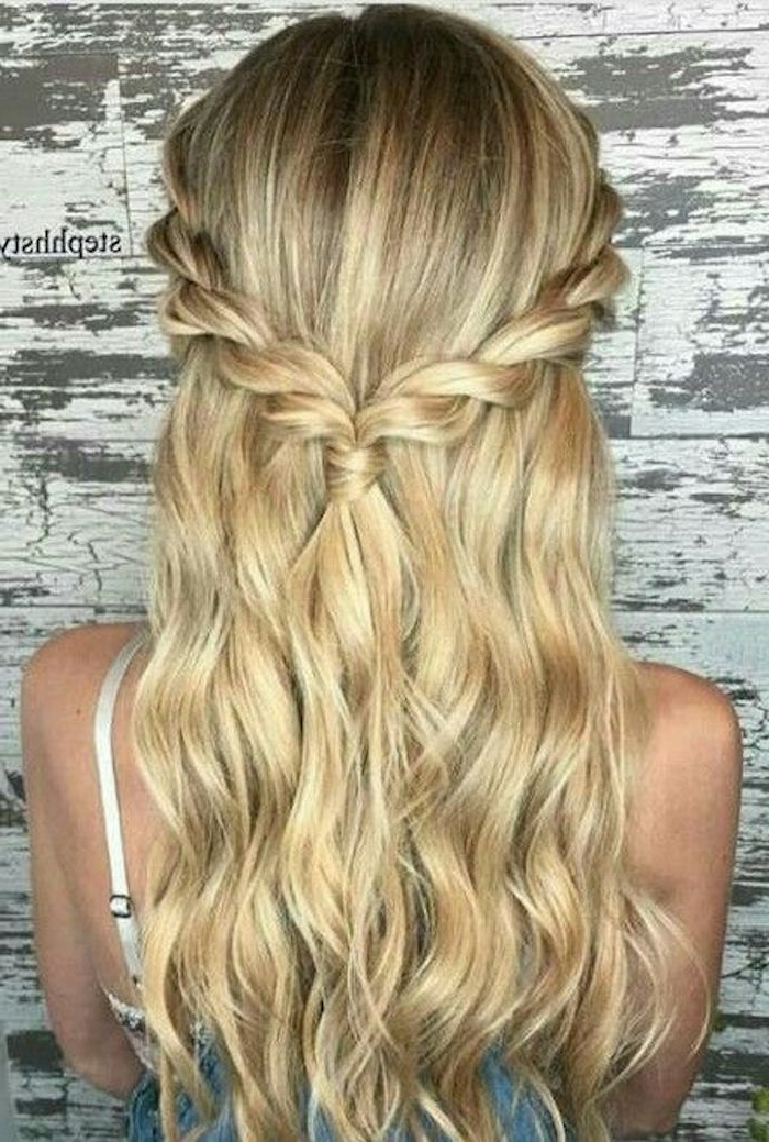 37 Beautiful Half Up Half Down Hairstyles For The Modern With Braided Half Up Hairstyles (View 16 of 25)