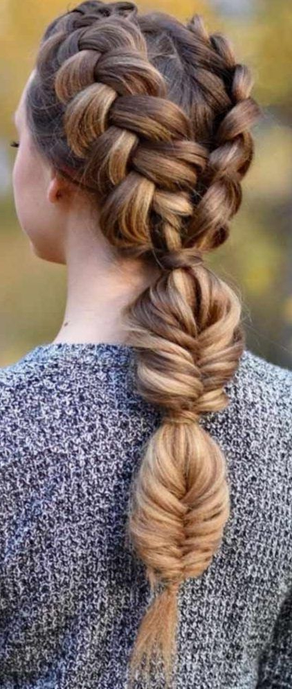 37 Dutch Braid Hairstyles – Braided Hairstyles With Intended For Latest Three Strand Pigtails Braided Hairstyles (View 6 of 25)