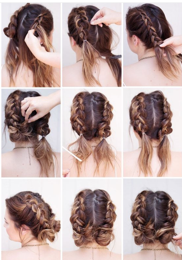 37 Dutch Braid Hairstyles – Braided Hairstyles With With Current Three Strand Pigtails Braided Hairstyles (View 9 of 25)