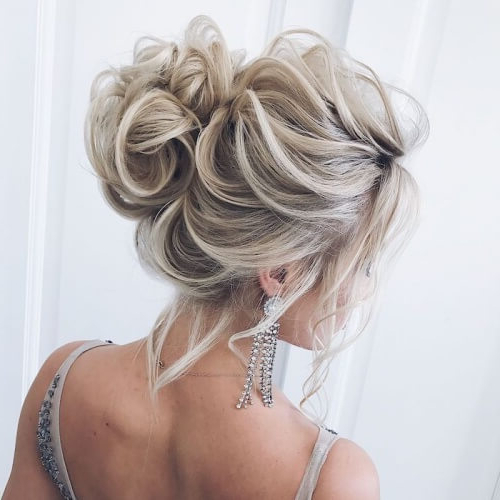 40 Easy & Cool Messy Bun Styles + How To Make Them | Hair Inside Messy Bun Hairstyles (View 13 of 25)
