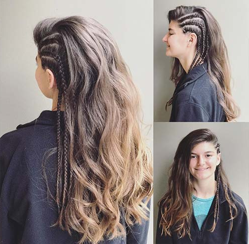 40 Masterpiece Undercut Designs – Blushery Throughout Most Recently Faux Undercut Braided Hairstyles (View 17 of 25)