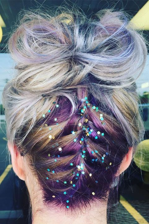 40 Picture Perfect Updos To Inspire Your Prom Look | Hair For Reverse French Braid Bun Updo Hairstyles (View 13 of 25)