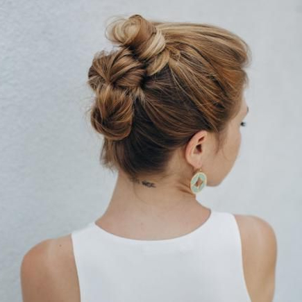 40 Updo Hairstyles For This Prom Season | Prom Hair And intended for Stacked Buns Updo Hairstyles