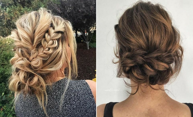 41 Beautiful Braided Updo Ideas For 2019 | Stayglam regarding Multi Braid Updo Hairstyles