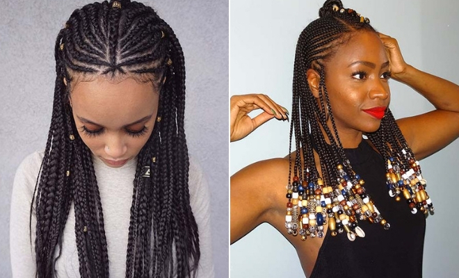 43 Badass Tribal Braids Hairstyles To Try | Stayglam Pertaining To Newest Dramatic Side Part Braided Hairstyles (View 10 of 25)