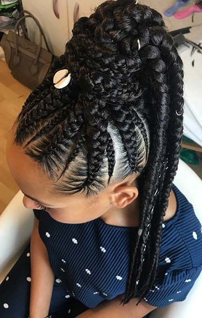 43 Best Braided Ponytail Hairstyles For 2019 | Stayglam Within Braided Ponytails Updo Hairstyles (View 11 of 25)