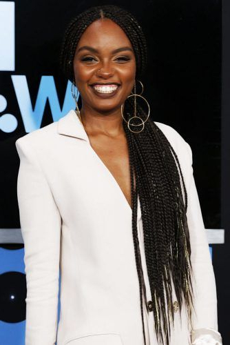 45 Enviable Ways To Rock The Latest Black Braided Hairstyles In Most Up To Date Center Part Braided Hairstyles (View 14 of 25)