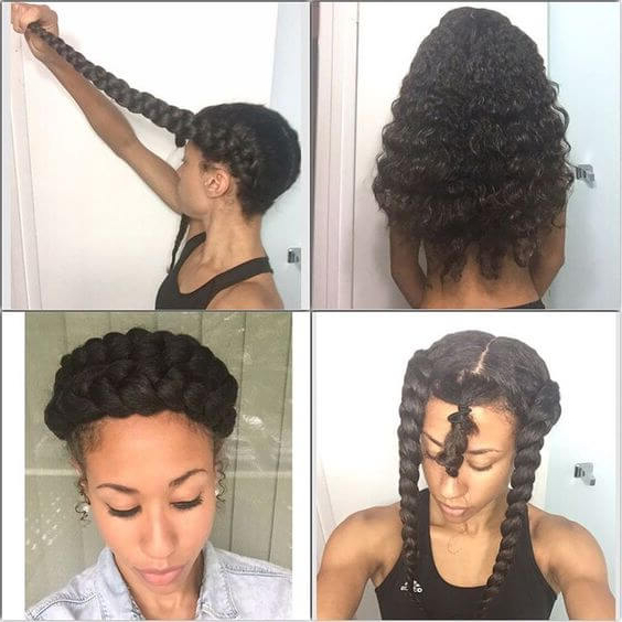47 Amazing Halo Braid Hairstyles Ponytails For Black Hair To Throughout Most Popular Halo Braided Hairstyles (View 20 of 25)