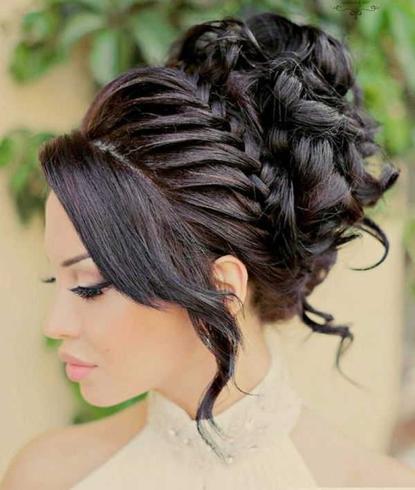 48 Of The Best Quinceanera Hairstyles That Will Make You intended for Most Popular Crowned Braid Crown Hairstyles