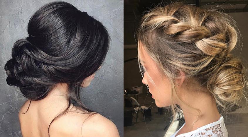 5 Low Bun Hairstyles We Love Inside Multi Braid Updo Hairstyles (View 25 of 25)
