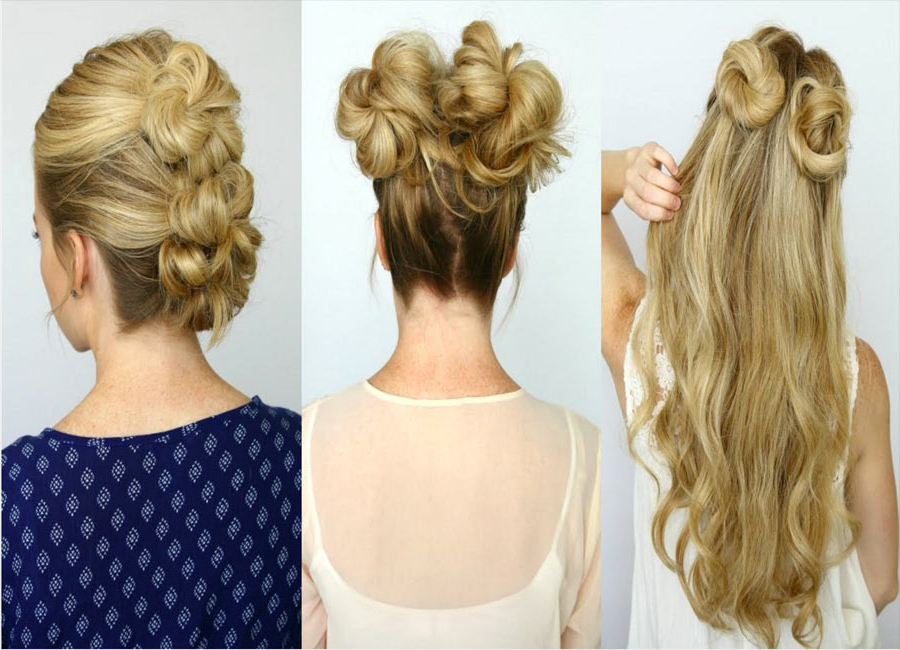 5 Mini Bun Hairstyles That Will Impress Your Friends | Easy Throughout Mini Buns Hairstyles (View 8 of 25)