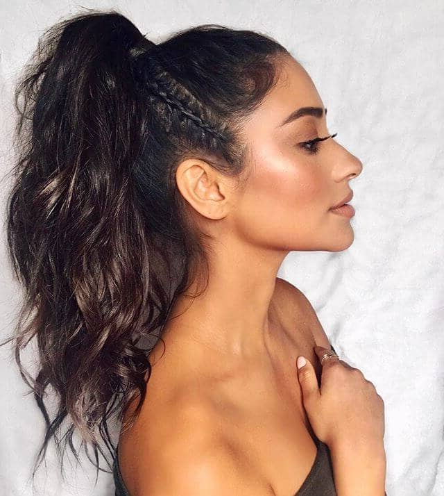 50 Best Ponytail Hairstyles To Update Your Updo In 2019 Intended For Natural High Ponytail Updo Hairstyles (View 11 of 25)