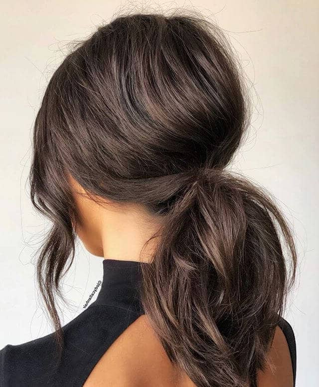 50 Best Ponytail Hairstyles To Update Your Updo In 2019 With Regard To Low Ponytail Hairstyles (View 7 of 25)