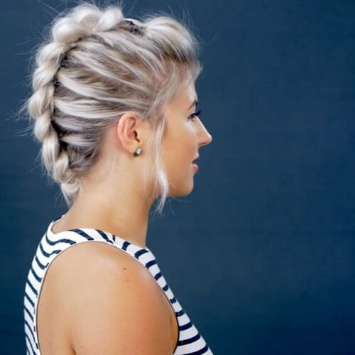 50 Brilliant Faux Hawk Styling Ideas To Try Out | Hair Throughout Most Current Faux Hawk Braided Hairstyles (View 14 of 25)