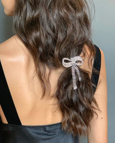 50 Cool Winter Hairstyles You Have To Try | Glamour In Blinged Out Bun Updo Hairstyles (View 18 of 25)