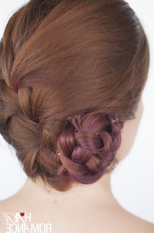 50 Fabulous French Braid Hairstyles To Diy – More In Crown Braid Updo Hairstyles (View 23 of 25)