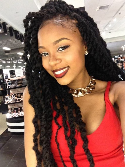 50 Goddess Braids Hairstyles | Herinterest/ With Regard To 2020 Loose Spiral Braided Hairstyles (View 23 of 25)