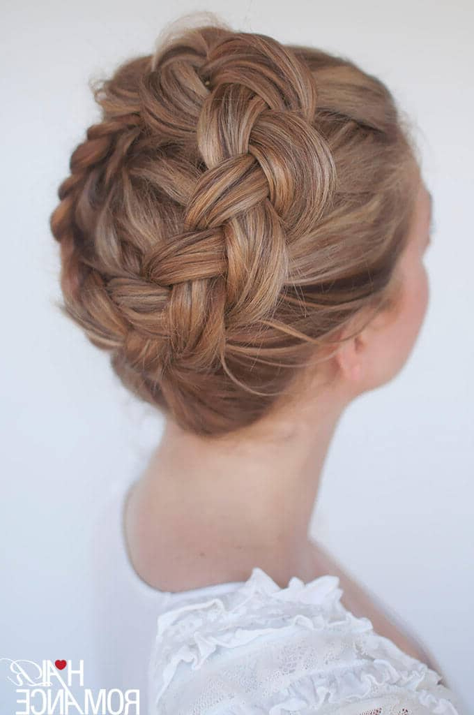 50 Trendy Dutch Braids Hairstyle Ideas To Keep You Cool In 2019 Regarding Latest Plaited Chignon Braided Hairstyles (View 7 of 25)