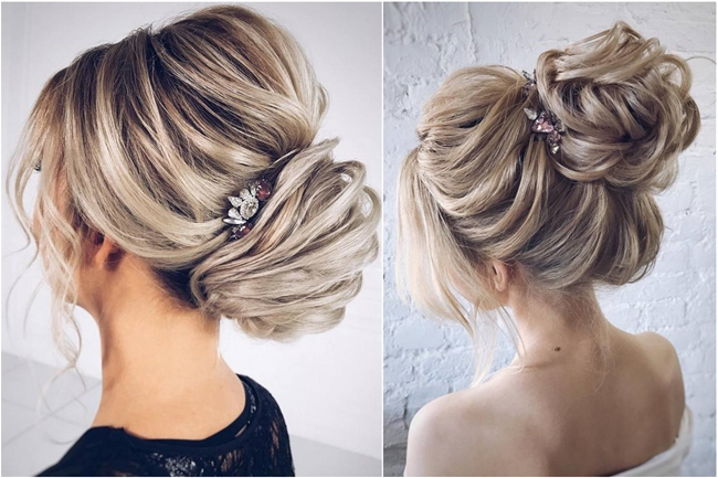 50 Updo Hairstyles For Special Occasion From Instagram Hair With Pearl Bun Updo Hairstyles (View 12 of 25)