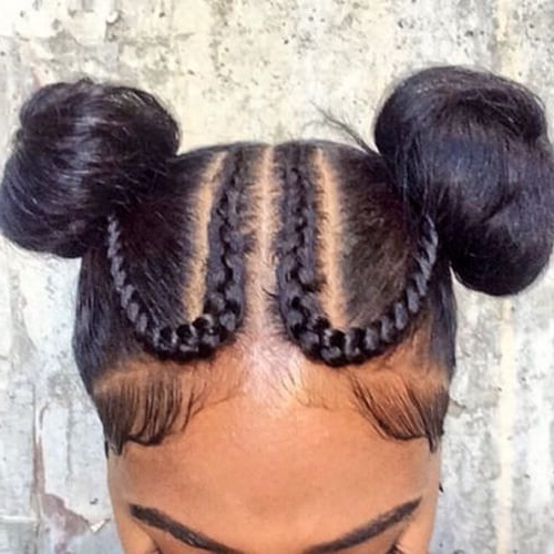 55 Flattering Goddess Braids Ideas To Inspire You | Hair Intended For Criss Cross Braid Bun Hairstyles (View 25 of 25)