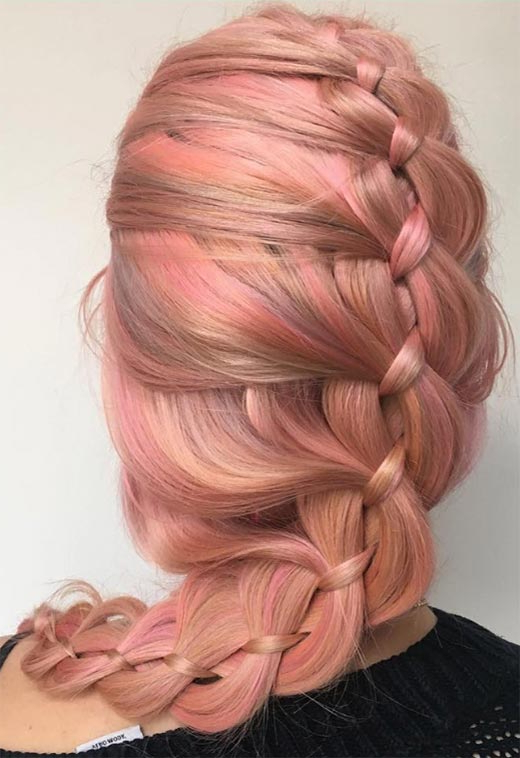 57 Amazing Braided Hairstyles For Long Hair For Every Inside Most Up To Date Asymmetrical French Braided Hairstyles (View 24 of 25)