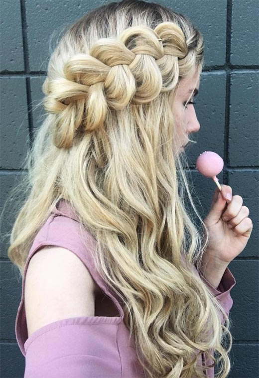 57 Amazing Braided Hairstyles For Long Hair For Every Throughout Recent Side Dutch Braided Hairstyles (View 23 of 25)