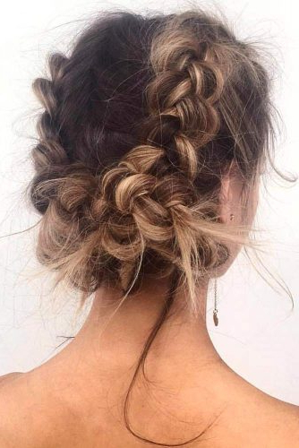 57 Cute And Creative Dutch Braid Ideas | Lovehairstyles With Dutch Braid Updo Hairstyles (View 13 of 25)