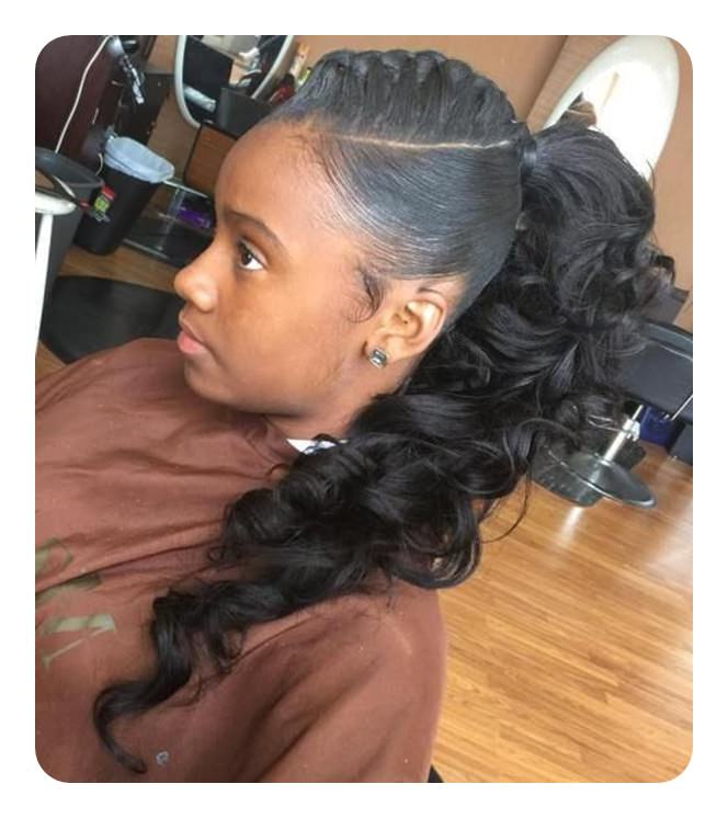 59 Timeless Weave Ponytail Hairstyles For Women Throughout Most Current Billowing Ponytail Braided Hairstyles (View 10 of 25)