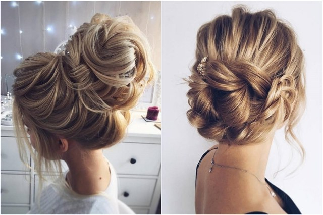 60 Wedding Hairstyles For Long Hair From Tonyastylist | Deer For Blinged Out Bun Updo Hairstyles (View 8 of 25)