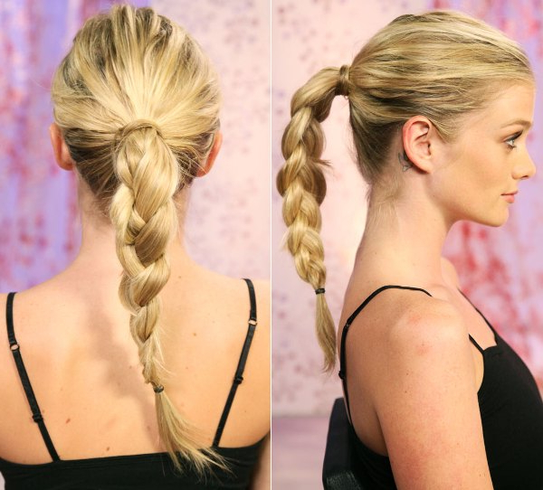 61 Beautiful Braids And Braided Hairstyles – The Women's Trend In Most Recently Billowing Ponytail Braided Hairstyles (View 7 of 25)