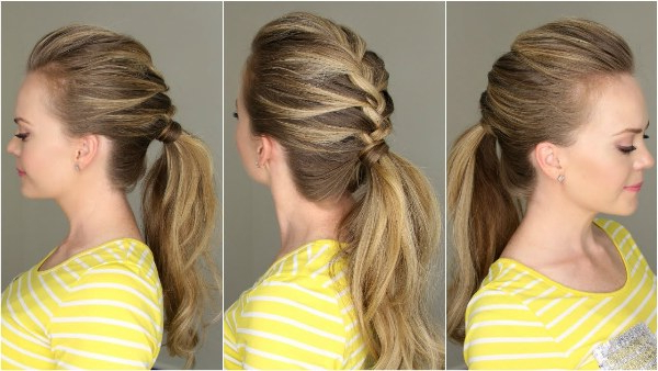 61 Beautiful Braids And Braided Hairstyles – The Women's Trend Throughout Most Current Billowing Ponytail Braided Hairstyles (View 11 of 25)