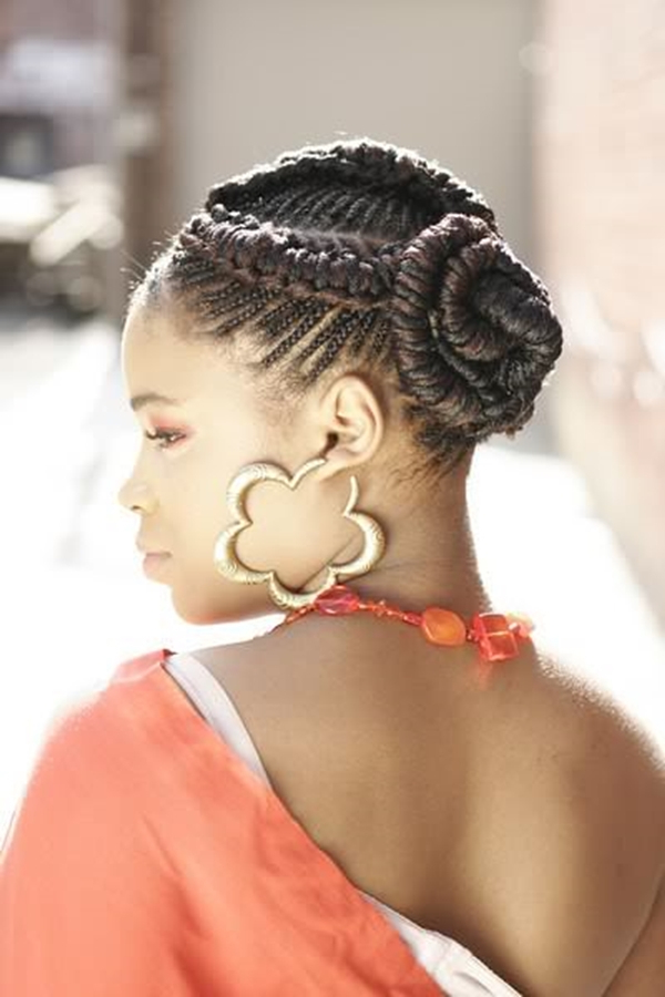 66 Of The Best Looking Black Braided Hairstyles For 2019 Inside Recent Big Bun Braided Hairstyles (View 17 of 25)