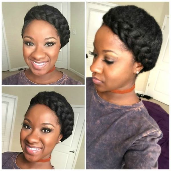 66 Stunning Halo Braid Ideas That You Will Love Throughout Best And Newest Halo Braided Hairstyles (View 10 of 25)