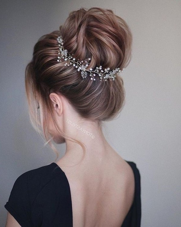 69 Amazing Prom Hairstyles That Will Rock Your World Within Blinged Out Bun Updo Hairstyles (View 12 of 25)