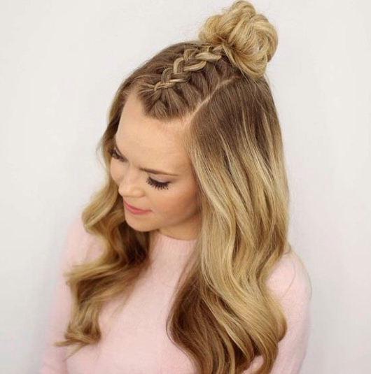 7 Easy Hairstyles For Every Day Of The Week~Isabelle S With Regard To Mini Buns Hairstyles (View 16 of 25)