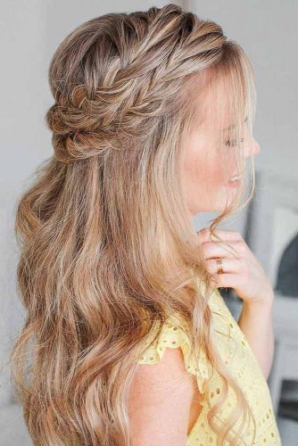 70 Charming Braided Hairstyles   Lovehairstyles Pertaining To Most Popular Fishtail Crown Braided Hairstyles (View 9 of 25)